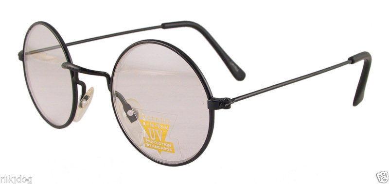 Gold Frame John Lennon Glasses : John Lennon Sunglasses Round Hippie Retro Gold Black ...