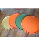 SET OF 4 MID-CENTURY RETRO SILITE Plastic  eame... - $39.99