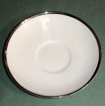 Wedgwood MAJESTY PLATINUM Tea Saucer Set of Two... - $12.90