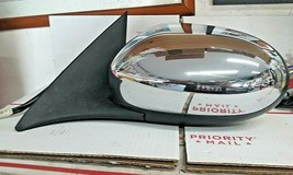 2002-2008 Jaguar X-TYPE Left Driver Side Power Side Door Mirror(Chrome) - $94.05