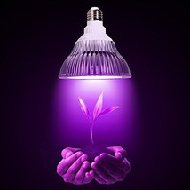 OxyLED Hydroponic LED Plant Grow Lights, 12W, 1... - $31.66