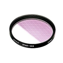 Hoya 49mm Six Point Cross Screen Glass Filter (6X) - $12.82