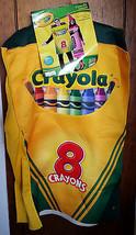 Crayola Craft Adult Costume Crayon Box Rasta Imposta Halloween Holiday Outfit - $37.99