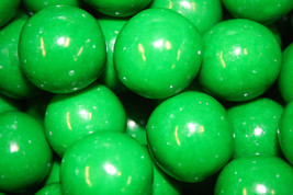 Gumballs Green 25mm Or 1 Inch (114 Count), 2 Lbs - $15.73