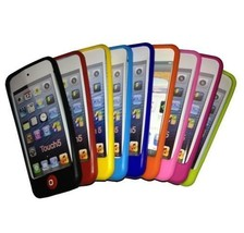 Apple iPod Touch 5 (5th Gen) Silicone Skin Case + Screen Protector - $7.99
