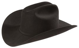 Larry Mahan Men's 6X Real Hat, Black, 7.25 [Apparel] - $224.95