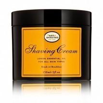 The Art Of Shaving Lemon Shaving Cream for All Skin Type With Essential ... - $29.11