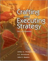 Crafting and Executing Strategy: Text and Readings with Online Learning Cente... - $7.95