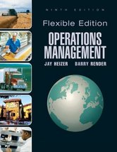 Operations Management, Flexible Version (9th Edition) by Jay Heizer; Barry Re... - $5.95