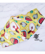 Face Mask Strawberries Garden Fruit Cotton Fabric Washable Reusable Hand... - $12.95