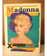 "Madonna ""X Personal Diary"" by Acorn Litho for Culture Shock promotional ... - $17.10"