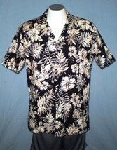 Made in Hawaii USA 3XL Button Down Hawaiian Shirt with Pocket Floral - $35.00