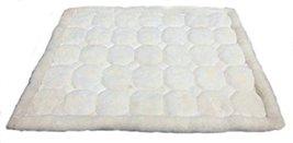 Alpakaandmore Original Peruvian Alpaca Fur Rug Rhombus Designs Natural White ... - $103.95
