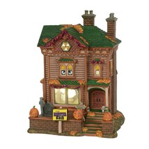 Dept 56 Trick Or Treat Lane Halloween Animated MONSTER MASH PARTY HOUSE ... - ₨11,029.81 INR