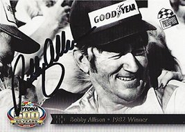 AUTOGRAPHED Bobby Allison 2007 Press Pass Racing Daytona 50 Years (1982 Winne... - $59.95