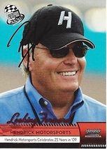 Autographed Rick Hendrick 2009 Press Pass Racing Looking Forward (Hms 25th An... - $74.95