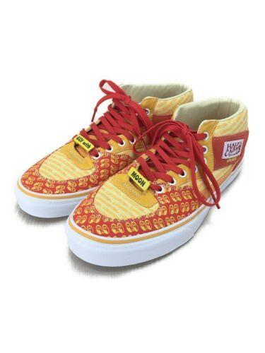 VANS X mooneyes Authentic Half Cab steve caballero Autographed shoes US 10 New