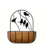 Panacea 16 inch Perching Birds Wall Planter wit... - £39.82 GBP
