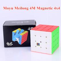 Moyu meilong M magnetic 4x4x4 magic cube 4x4 puzzle cube 4x4x4 speed cube  - $17.68