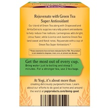 Yogi Tea, Green Tea Super Antioxidant, 16 Tea Bags, 1.12 oz (32 g) image 5