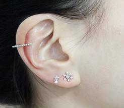 Bar Ear Cuff, Thin Line Ear Cuff, Bar Ear Cuff ... - $14.00