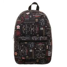 Harry Potter Gryffindor House Backpack Black - $51.98