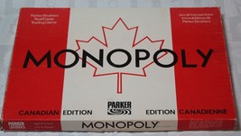 MONOPOLY Canadian Edition Board Game Parker Bro... - $45.99