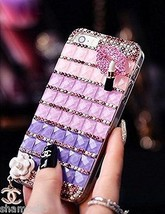 For iPhone 6s / 6 Plus Case Fashion Luxury Lips stick Diamond Crystal Cl... - $5.97