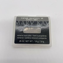 Mary Kay Mineral Eye Color Vintage Gold 016071 .05 Oz - Discontinued - $9.47