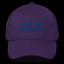Run the Damn Ball hat / run the Damn Ball / Cotton Cap image 4