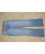 GLO Blue Jeans Pant Girls Size 14 SLIM Boot Cut - $8.99