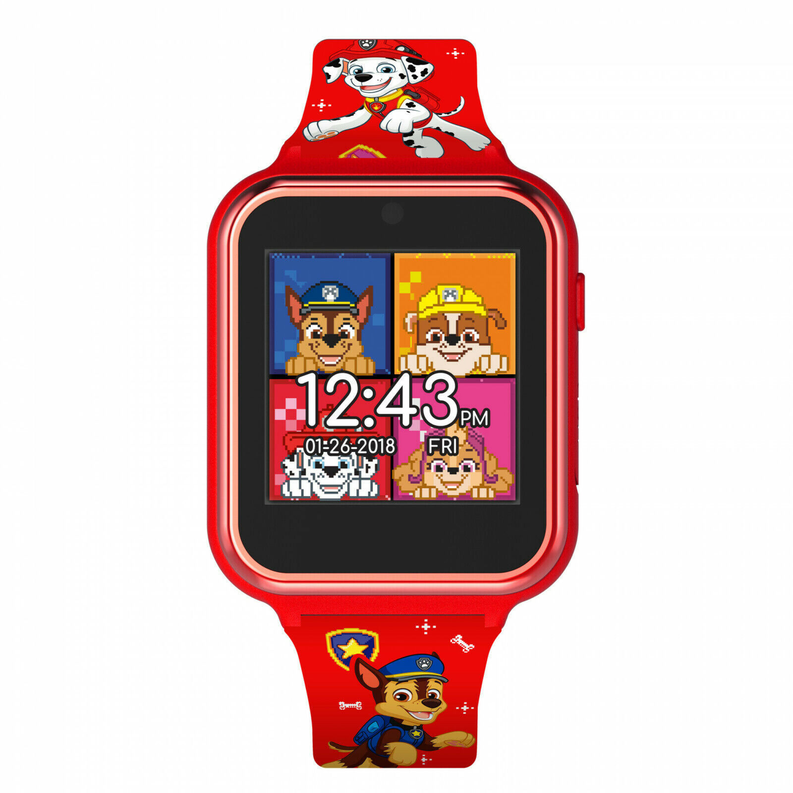 Paw Patrol Red Accutime Interactive Kids Watch Multi-Color - $43.98