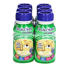 PediaSure® with Fiber TN - Vanilla 8 oz. Bottle (Case of 24) 53585 - $50.55