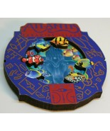 Atlantis Paradise Island Fish Tropical Aquarium Round Collage Magnet the... - $19.95