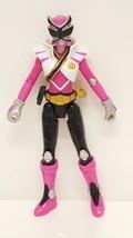 Power Rangers Shinken Pink Action Figure TV Animated Series Toy Ninja Ba... - $14.83