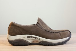 Merrell Primo Seam Moc 9 Brown Suede Women's Slip On Shoe DK Taupe - $36.00