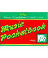 Banjo Music Pocketbook/5 String/New/OOP - $1.25
