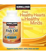 Kirkland Signature Fish Oil Concentrate 1000 mg... - $11.75