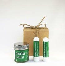 Mata Natural Massage Balm (1) for Relieving Muscle Aches and Herbal Inha... - $23.76
