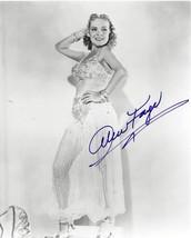 """Alice Faye"" Original Autographed 8 X 10 - B & W - Photograph - (sku#4034) - $49.88"