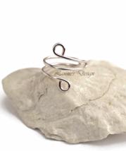 Light Pink Ear Cuff, No Piercing Wire Wrap Earrings - $9.90+