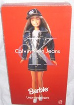 Barbie BLOOMINGDALES Calvin Klein Jeans Doll NEW IN THE BOX! Ltd Ed 1996 - $49.96