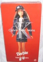 Barbie BLOOMINGDALES Calvin Klein Jeans Doll NEW IN THE BOX! Ltd Ed 1996 - $39.96