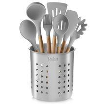 Stainless Steel Kitchen Utensil Holder, Kitchen Caddy, Utensil Organizer... - $27.02