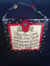 "Laura Kirkland Designs~ Glory Haus~ ""Lord watch over..."" Psalms Ceramic ... - $14.84"