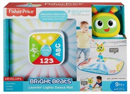 Fisher-Price Learnin' Lights Dance Mat Learning Toy English Edition 9-36 Months - $43.99
