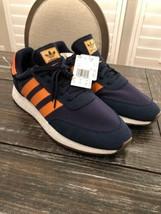 Adidas I-5923 Iiniki Blue & Orange Boost Retro Shoes B37919 Size 13 BRAN... - $74.25