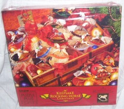 Springbok A KEEPSAKE ROCKING HORSE CHRISTMAS Jigsaw Puzzle NEW! 500 Pieces - $29.96