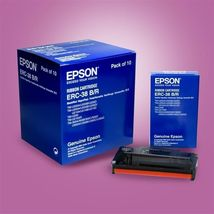 10pk Epson ERC-38B/R Black/Red Genuine Ink Ribbon Cartridges ERC38B/R New Fresh - $31.68