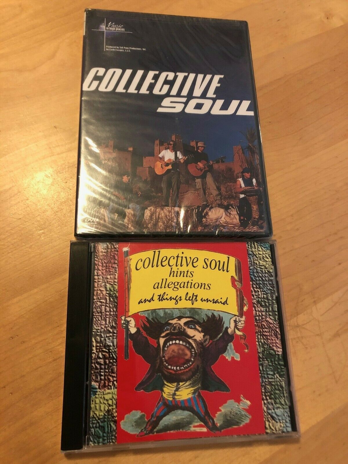 Primary image for COLLECTIVE SOUL Music In High Places Live Concert BRAND NEW +BONUS RARE CD LOOK!